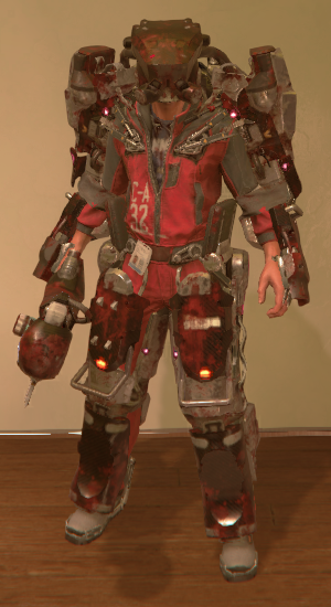 bloodied proteus gear